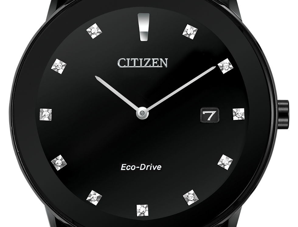 Citizen Axiom Eco-Drive Black AU1065-58G Watch