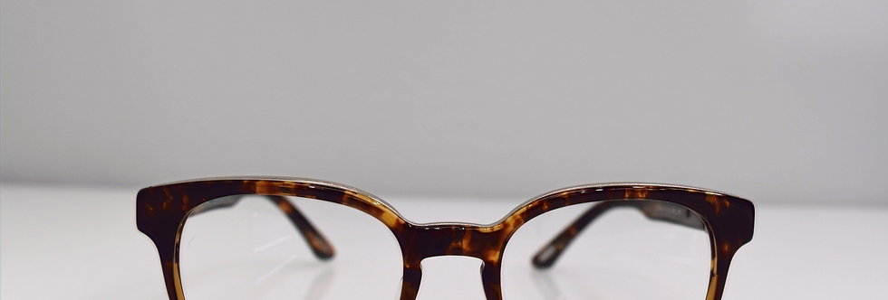 Chopard Dark Havana 23KT White Gold Plated VCH144 0961 Eyeglasses