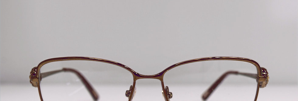Chopard Brown 23KT Gold Plated VCHA945 0R80 Eyeglasses