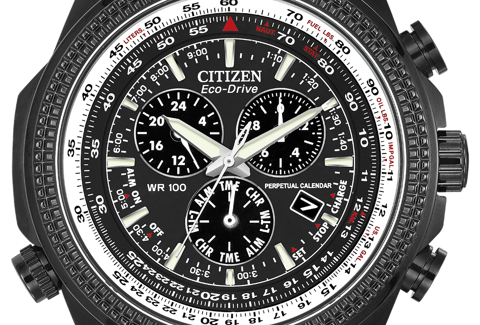Citizen Brycen Eco-Drive Black BL5405-59E Watch