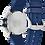 Thumbnail: Citizen Drive Eco-Drive Navy Blue AW1158-05L Watch