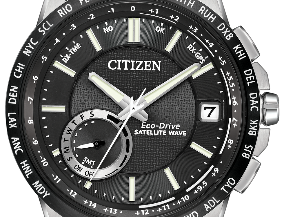 Citizen Satellite Wave-World Time GPS Eco-Drive CC3005-85E Watch
