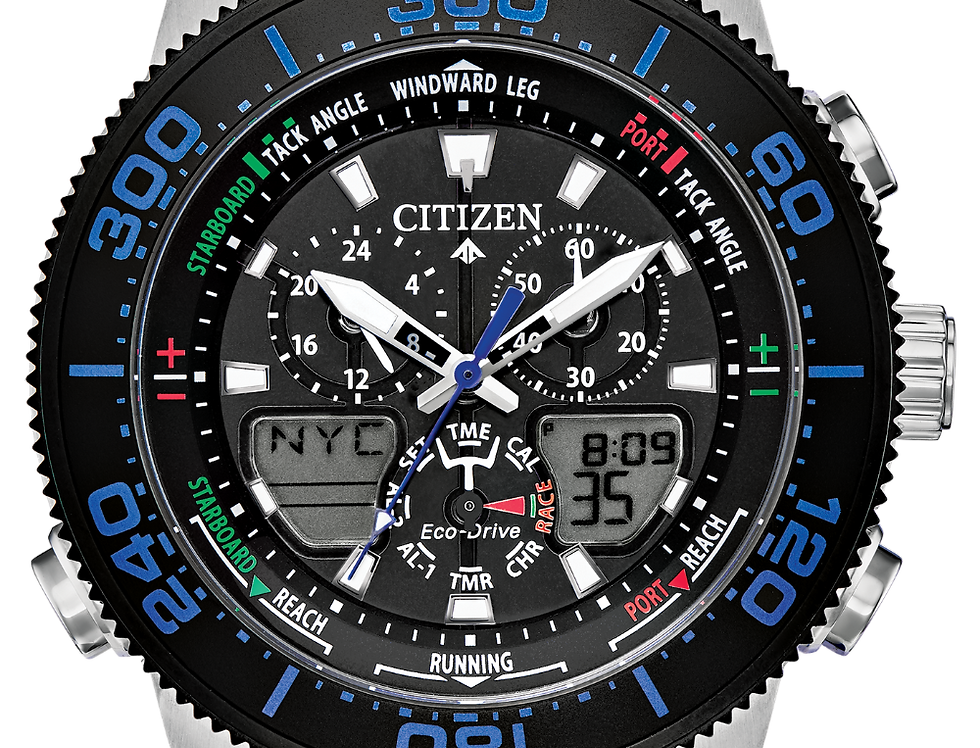 Citizen Promaster Sailhawk Eco-Drive Blue JR4068-01E Watch