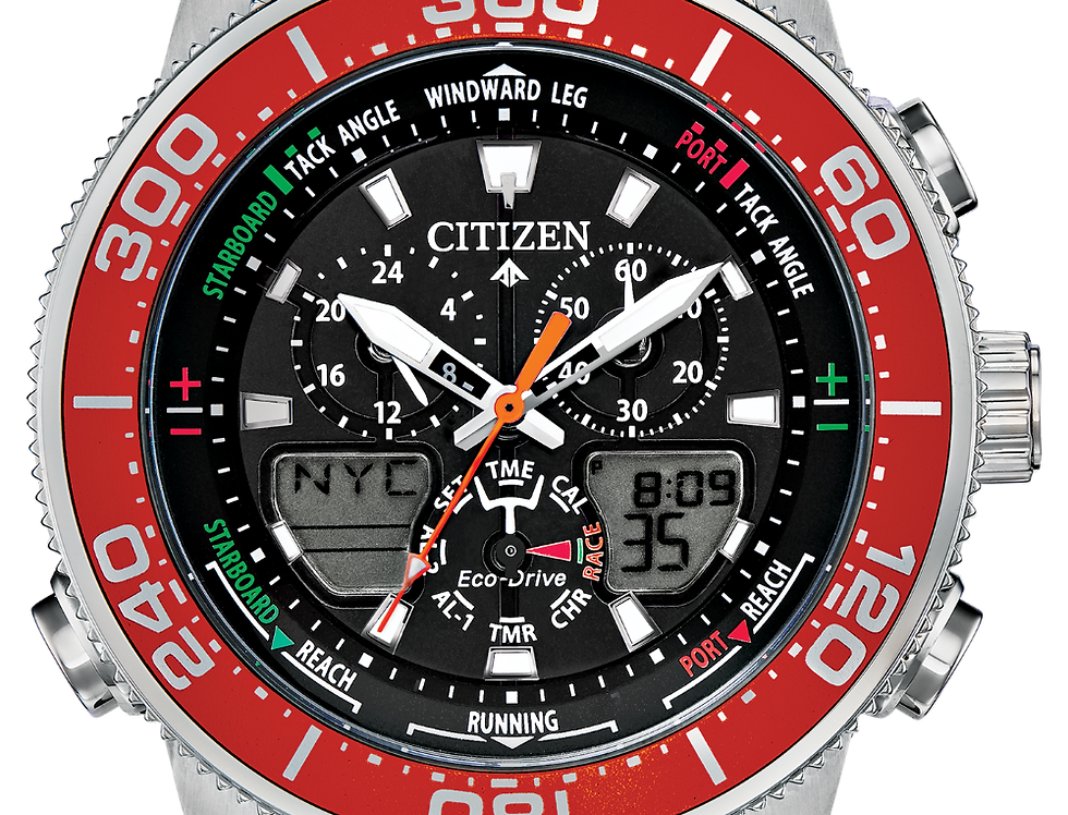 Citizen Promaster Sailhawk Eco-Drive Orange JR4061-00F Watch
