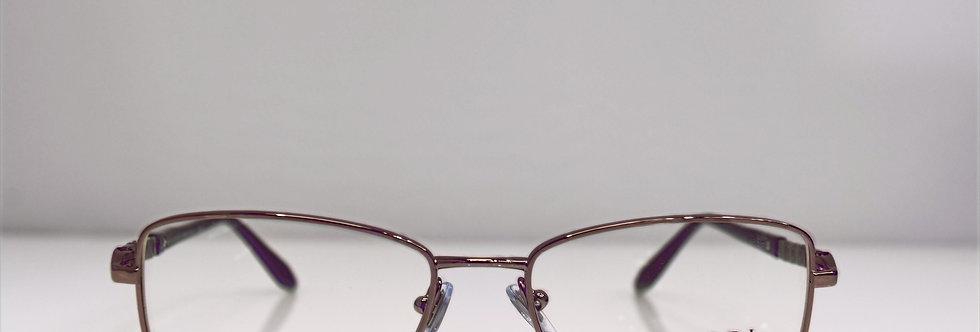 BVLGARI Wine Purple Crystal 2111-B 176 Eyeglasses