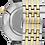 Thumbnail: Bulova Regatta SS White Dial 98A233 Watch