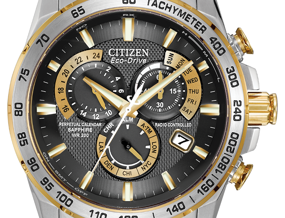 Citizen PCAT Eco-Drive Two Tone AT4004-52E Watch