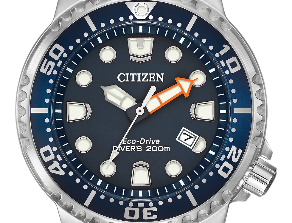 Citizen Promaster Diver Eco-Drive Navy Blue BN0151-09L Watch