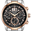 Thumbnail: Bulova Sutton Silver And Rose Gold SS Gray Dial 98B335 Watch