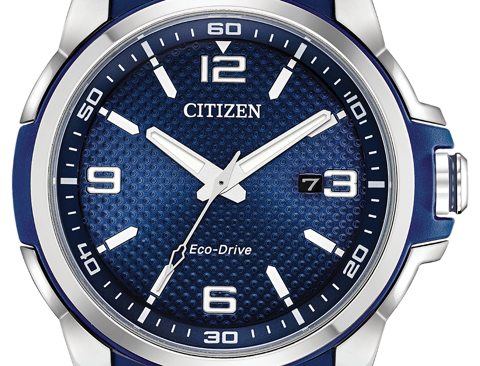 Citizen Drive Eco-Drive Navy Blue AW1158-05L Watch