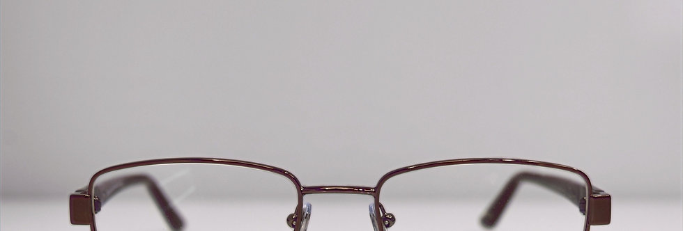 BVLGARI Burgundy Brown 1049 138 Eyeglasses