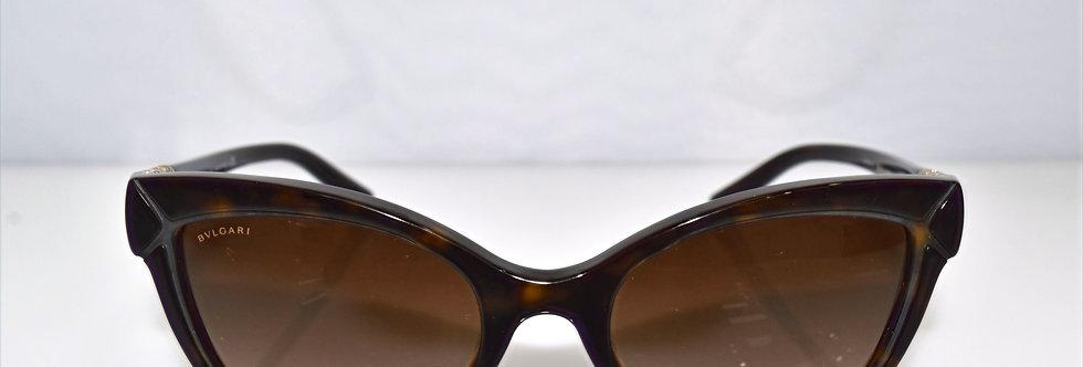 BVLGARI Dark Havana Gold 8156-B 504/13 Sunglasses