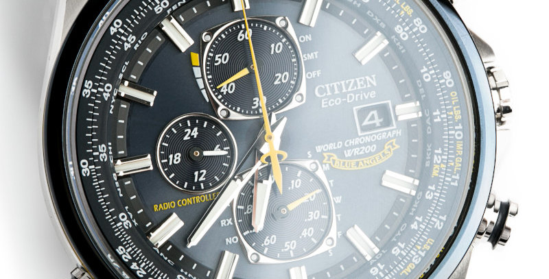 Citizen Men's World Chronograph A-T Eco-Drive AT8020-54L Watch