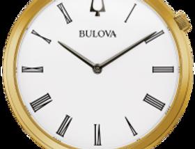 Bulova Regatta Gold Tone SS White Dial 97A153 Watch