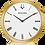 Thumbnail: Bulova Regatta Gold Tone SS White Dial 97A153 Watch