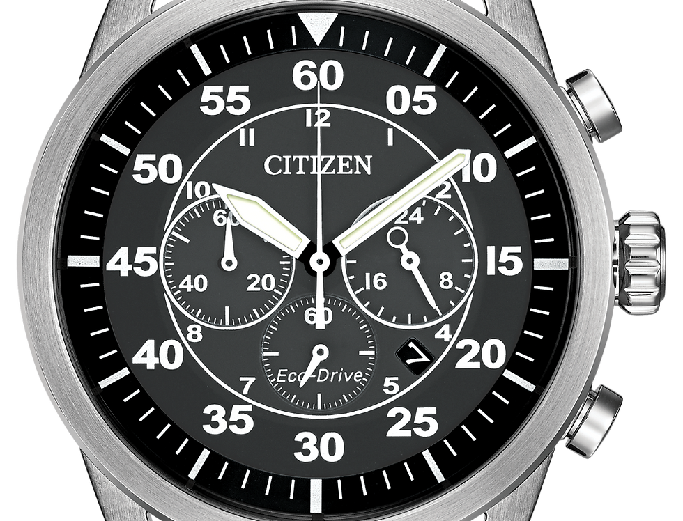 Citizen Avion Eco-Drive Brown Leather CA4210-24E Watch