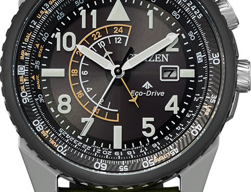 Citizen Men's Promaster Nighthawk Eco-Drive BJ7138-04E Watch
