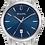 Thumbnail: Bulova Sutton SS Blue Dial 96B338 Watch