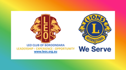 LEO Club of Boroondara & Lion (Rainbow)
