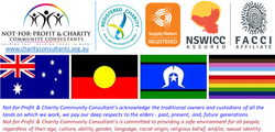 Not-for-Profit & Charity Community Consultants, ACNC, Supply Nation, NSWICC, FACCI, Indigenous and D