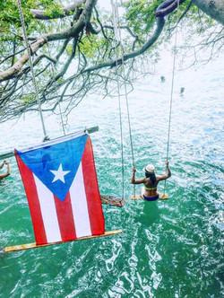 Columpio en Ceiba