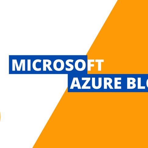 Types of Azure Blob Storage