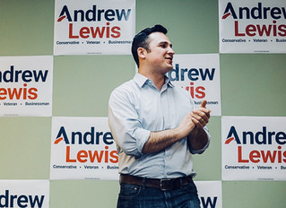 Rep. Andrew Lewis to Seek Re-Election to the Pennsylvania House of Representatives