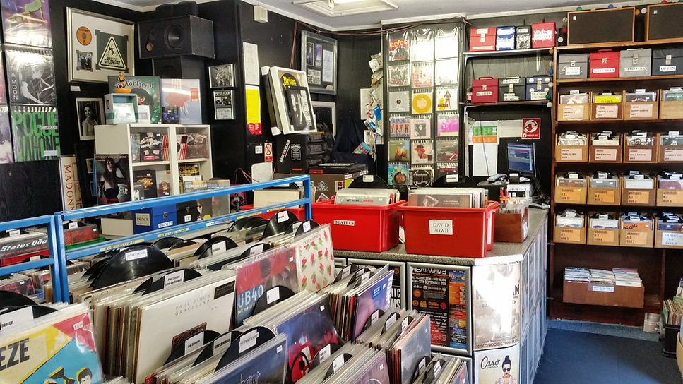 record shop in manchester