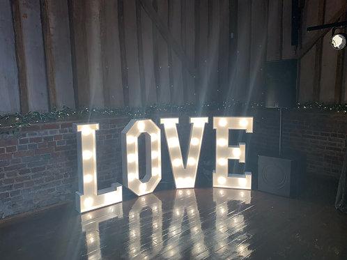 Big Bulb Love Letters