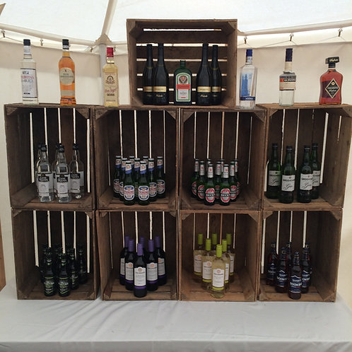 Apple Crate Back Bar