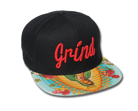 Our Lady of Guadalupe Hat with Red Grind Logo