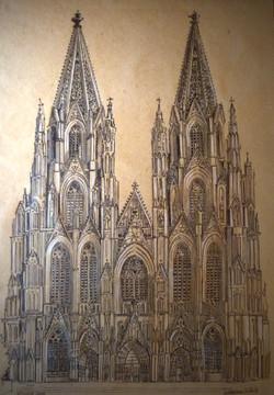 Kölner Dom   Zeichnung