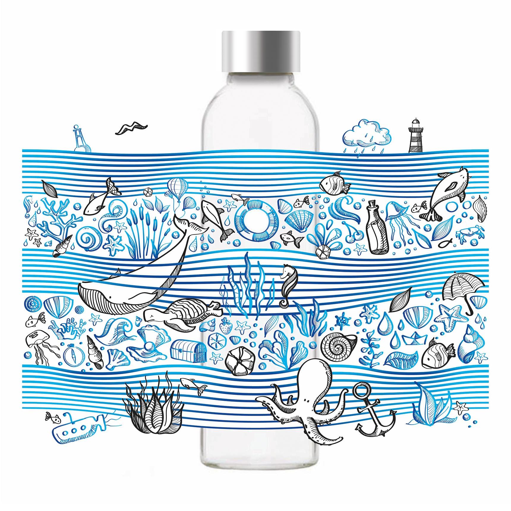 Wasserflaschen Design