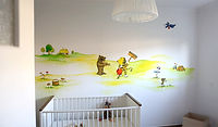 Wandmalerei Flottmann