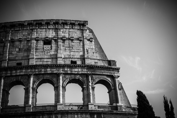Travel serie: Sky of Rome