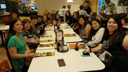 """After """" Annual Eagle Scouts Banquet"""" performance dinner!"""