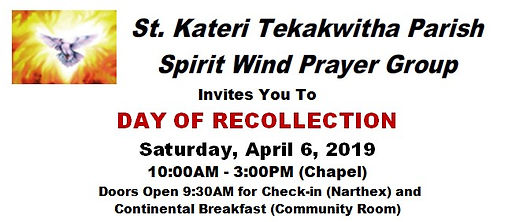 Spirit Wind Day of Recollection Text 1.j