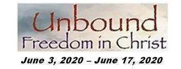 Unbound Freedom In Christ June 2020 Logo