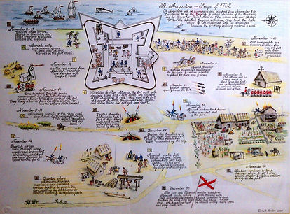 St. Augustine, 1702 siege