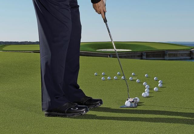 Golf Lessons, Putting, Speed control, Line