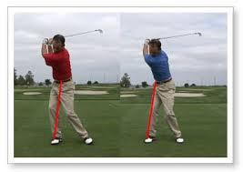 Golf Lessons, Golf Coaching, Auckland, Mass Shift versus pressure shift