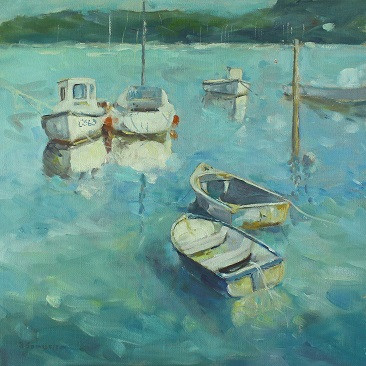 boats at st helens quay