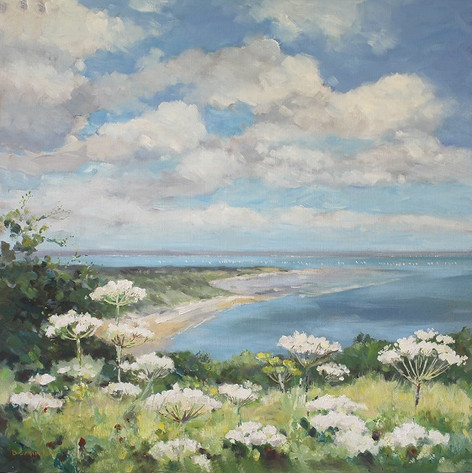 Culver View and Cow Parsley