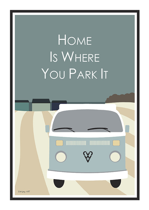 Home is where you park it..