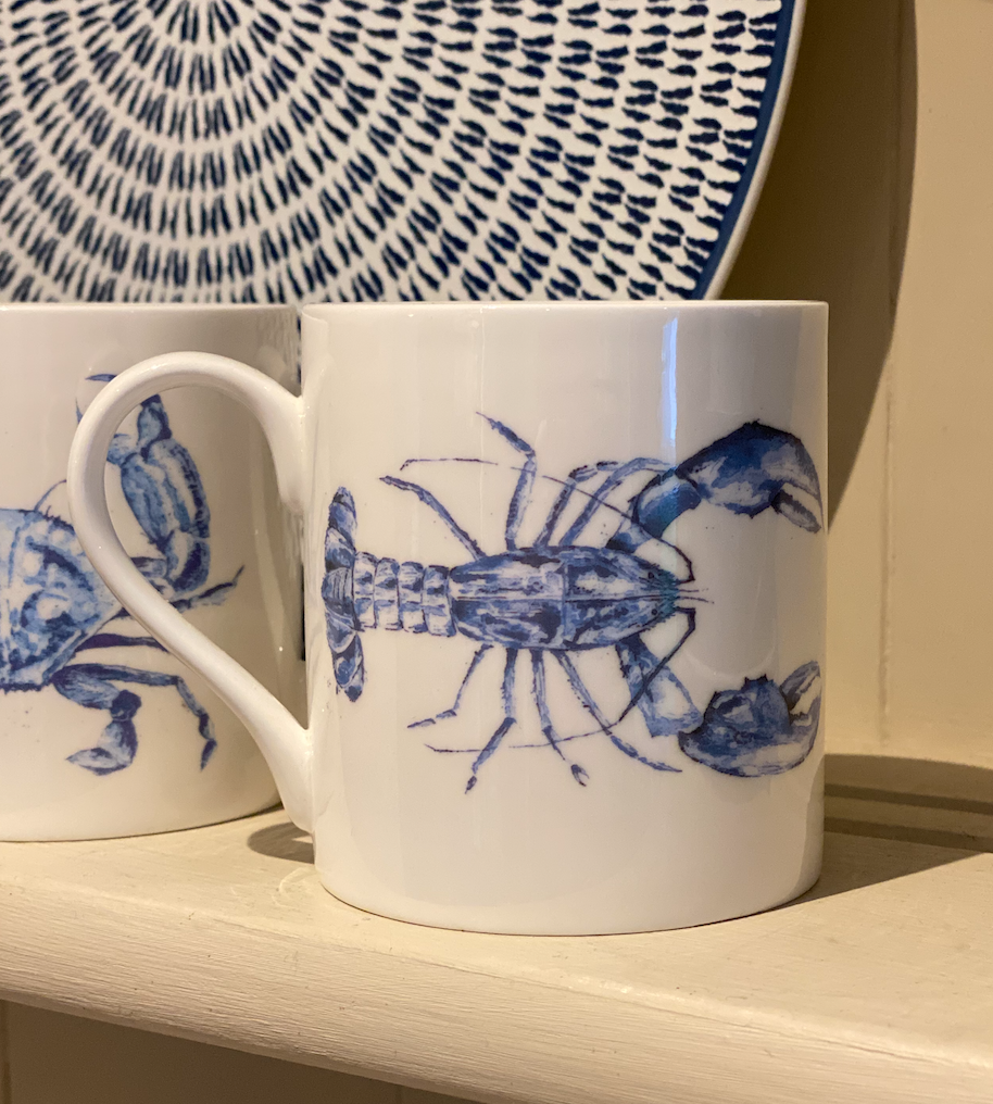 lobster, crab, jellyfish or whale mugs