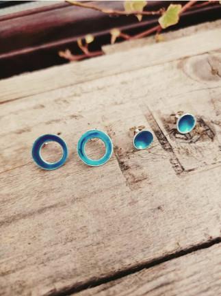 Azure Sea Coloured Jewellery