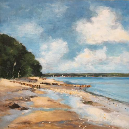 Bembridge Beach Rising Tide