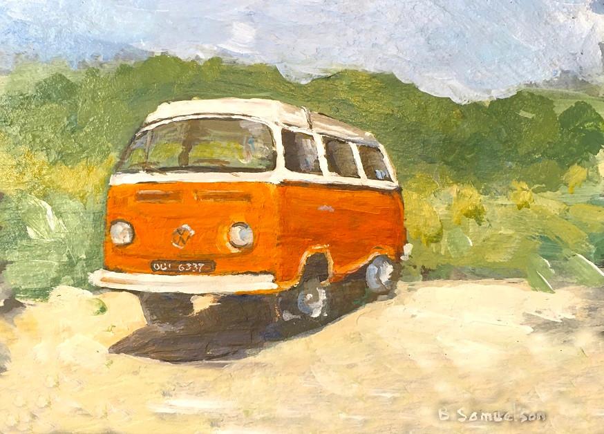 compton 1975 VW camper