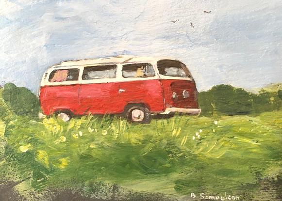 oliver 1972 VW camper