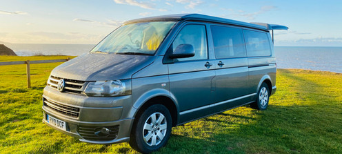 Dylan is our Long Wheel Base VW T5 Camper.  He was converted by Custom Camper Solutions in 2018
